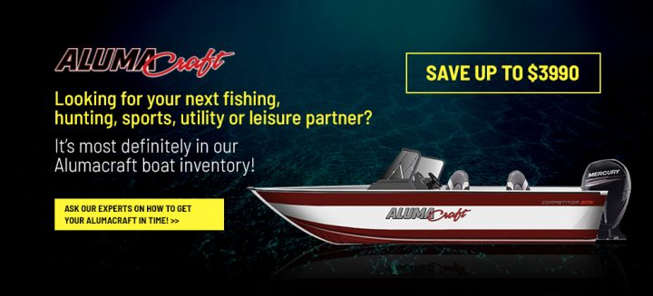 Looking for our Alumacraft boat inventory?