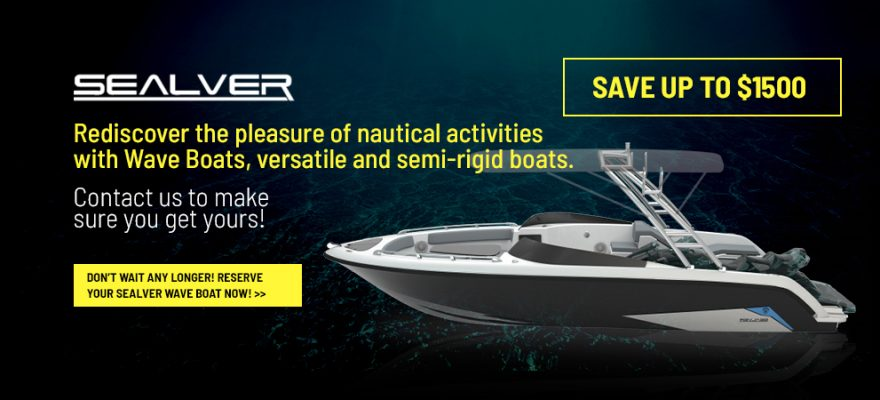 Rediscover the pleasure of nautical activities with Sealver