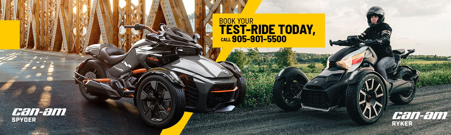 Book your test-ride today