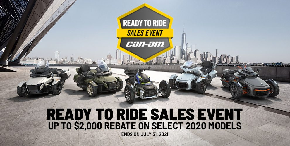Ready to Ride Sales Event