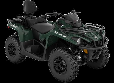 2022 Can-Am OUTLANDER MAX DPS 450/570 TUNDRA-GREEN