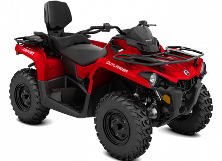 2022 Can-Am OUTLANDER MAX 450/570 VIPER-RED