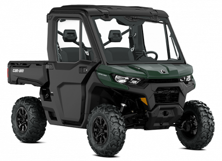 2022 Can-Am DEFENDER DPS CAB TUNDRA-GREEN