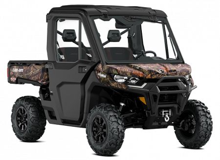 2022 Can-Am DEFENDER LIMITED MOSSY-OAK-BREAK-UP-COUNTRY-CAMO