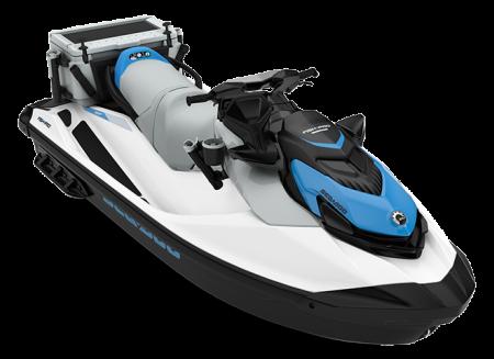 2022 Sea-Doo FISHPRO SCOUT 130 white/gulfstream-blue