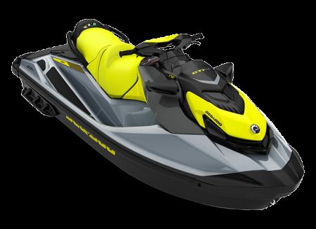 2022 Sea-Doo GTI SE 170 neon-yellow