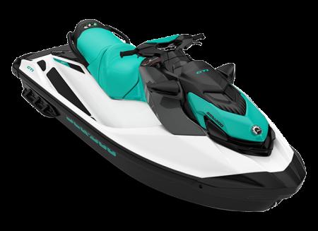 2022 Sea-Doo GTI 130 white/reef-blue