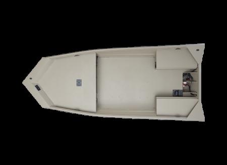 2022 Alumacraft ALL WELD MV TILLER