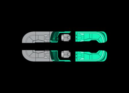2022 Manitou LX REAR FACING X-TREME WINDSHIELD (RFXW)