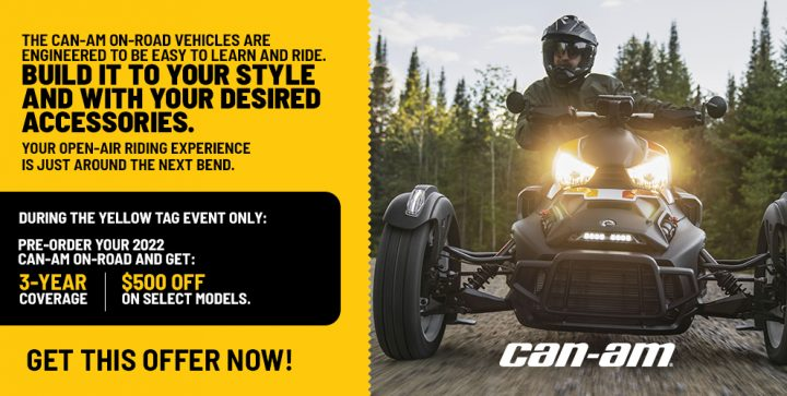 Yellow Tag Sales Event – On-Road offers