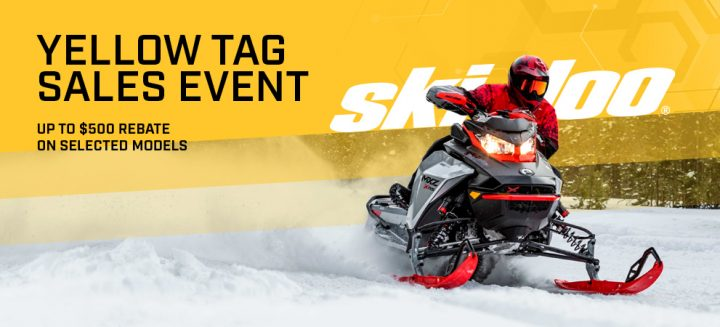 BRP Yellow Tag Sales Event is here!